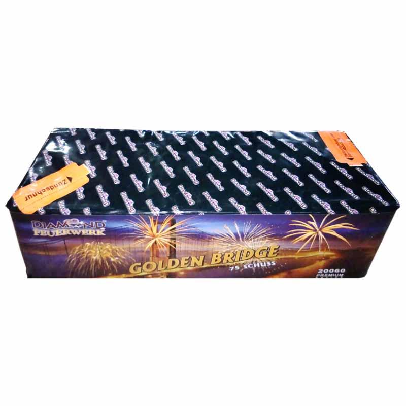 xxl Feuerwerksbatterie Golden Bridge