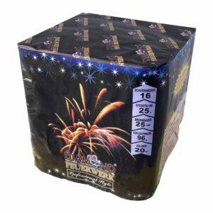 Feuerwerkbatterie Blue Diamonds