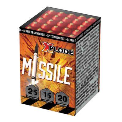 Kleine Feuewerksbatterie Missile