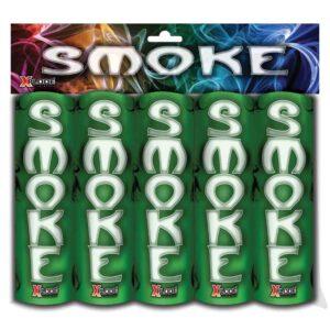 Rauchbombe grün